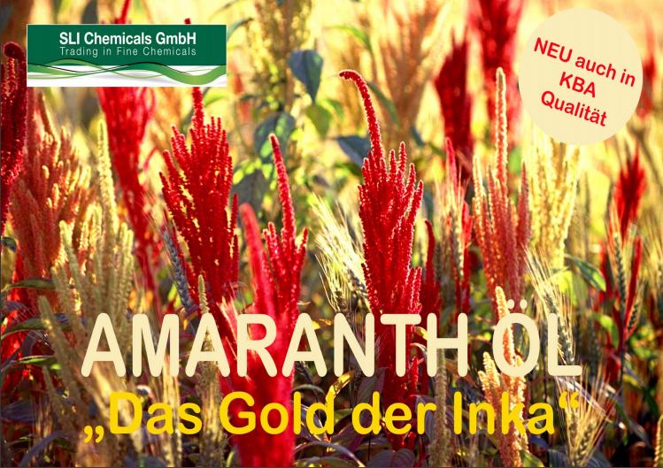 Amaranth Oil, brochure