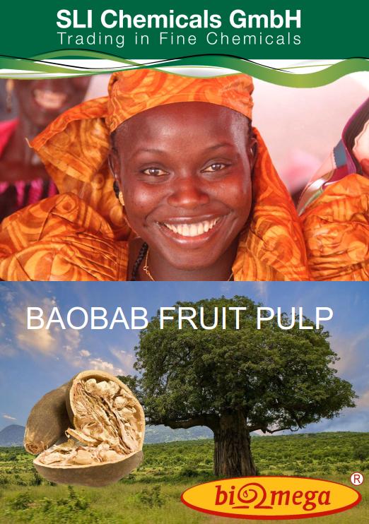 Baobab Fruit Pulp, Broschüre