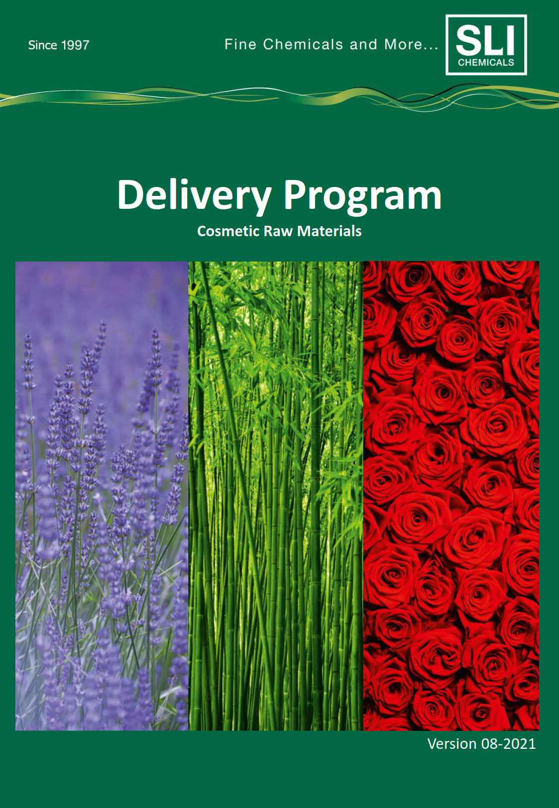 Delivery Program - Cosmetic Raw Materials 06 2019