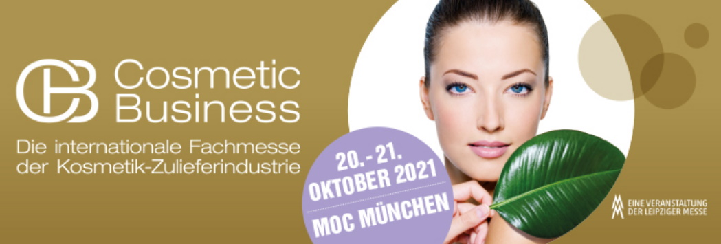 Cosmetic Business, München, 20. – 21. Oktober 2021