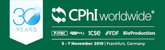 CPhI worldwide, Frankfurt, 05.-07.November 2019